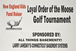 Connecticut Basement Systems Sponsors Golf Tournament Fund Raiser
