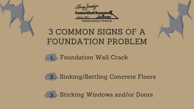 3 Common Signs of a Foundation Problem