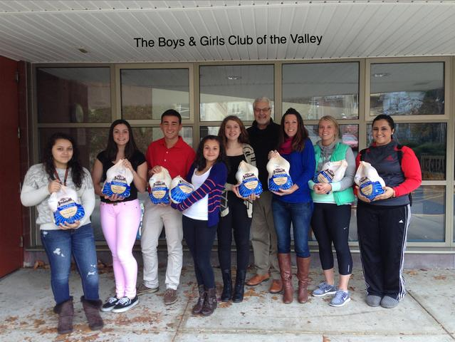 Basement Systems holds a turkey giveaway