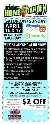 The BIG Home & Garden Show 2017 --- Starts Tomorrow !!!