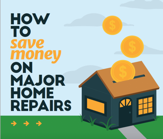 How to Save Money on Major Home Repairs