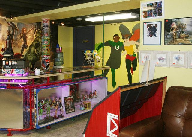 First Comic Book Store in Woodstown has Thermal Dry Flooring!