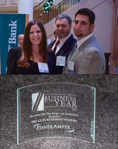 Dry Guys awarded Finalist for NJ Business of the Year