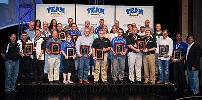 Dry Guys Basement Systems received a major award at this year's Team Basement Systems Convention....