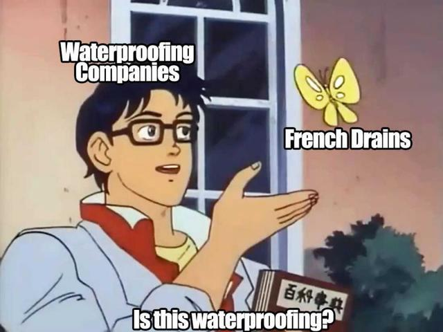 Meme: Waterproofing companies- is THIS waterproofing?