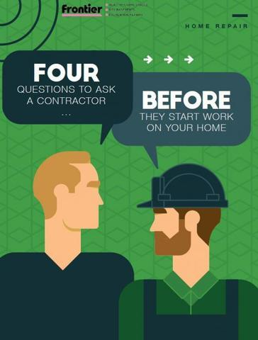 Four Questions to Ask a Contractor BEFORE They Start Work On Your Home