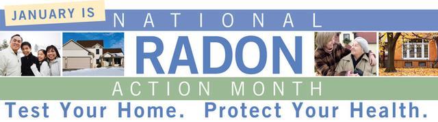 National Radon Action Month EPA