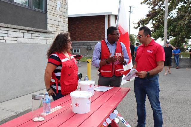 Notre premier BBQ au profit de la Croix-Rouge fut un succès! - Image 2