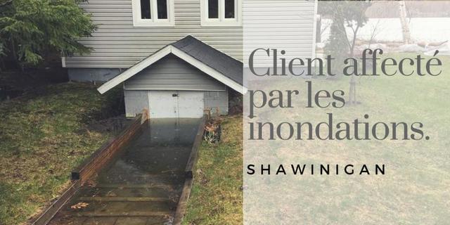 Les inondations à Shawinigan. Qui est le coupable?