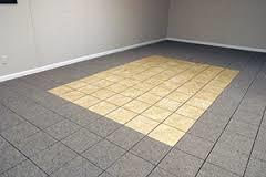 When basement flooding happens your basement flooring will be ruined. Luckily there is a type of flooring that will save...