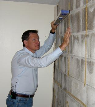 Bowing wall repair and inspection in Iowa