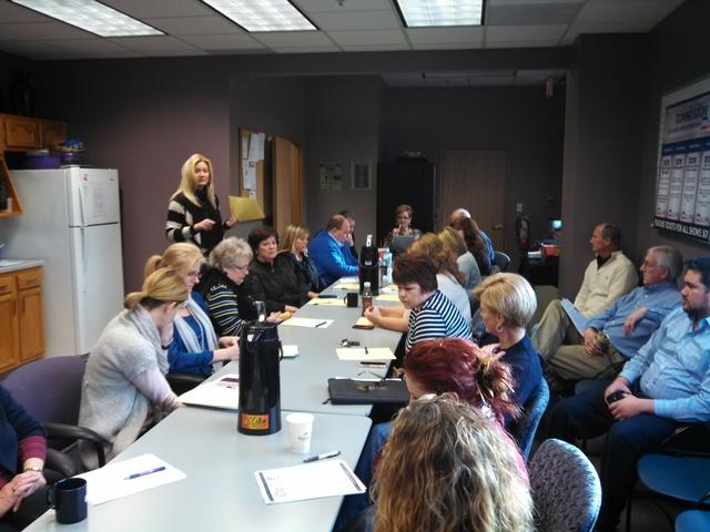 We had the opportunity to give a presentation to the Iowa Realty Office in Waukee Iowa.  First let me...