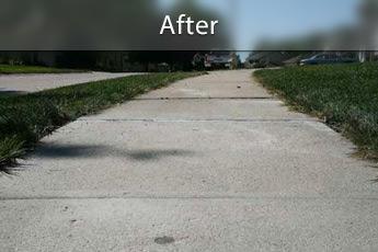 Settle Sidewalk AFTER PolyLEVEL