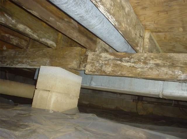 Are the floors above your crawl space bouncy, soft, or unlevel? 