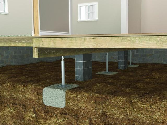 Crawl Space Jacks Are the Ultimate Crawl Space Support System