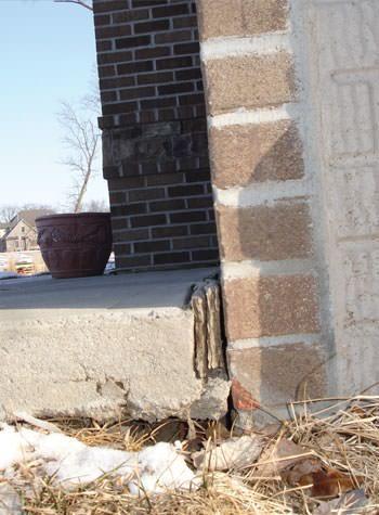 Garage Slab Gap Caused by Street Creep