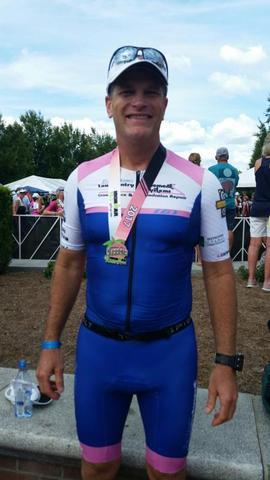 Ironman, Rob Videon Finishes Augusta Race in Record Time!