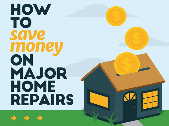 How to Save Money on Major Home Repairs - Image 1