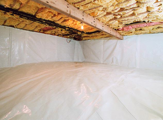 How to Encapsulate a Crawl Space in GA and SC