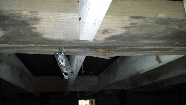 Crawl Space Moisture Causing Wood Rot in Hinesville, GA