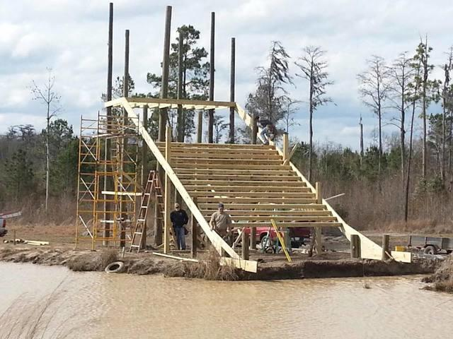 The CleanSpace Slide at the Big Nasty Mud Run