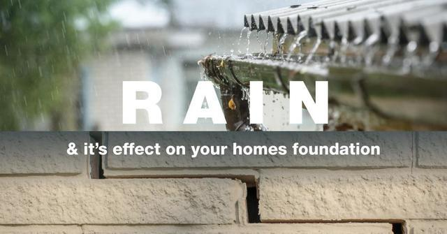 Rain and it\'s Effect on Your Homes Foundation - Image 1