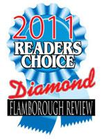 In 2011, Omni took home a Diamond Reader's Choice Award in the service category for the Flamborough Review.