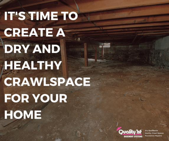 The Benefits of a Dry and Healthy Crawl Space