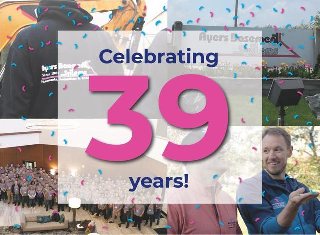 Ayers Celebrates 39 Years!