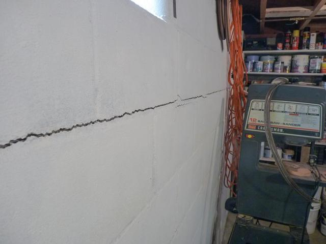 Stages of Wall Failure