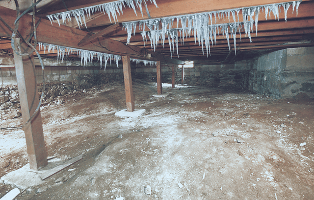 Cold Air and Your Crawl Space