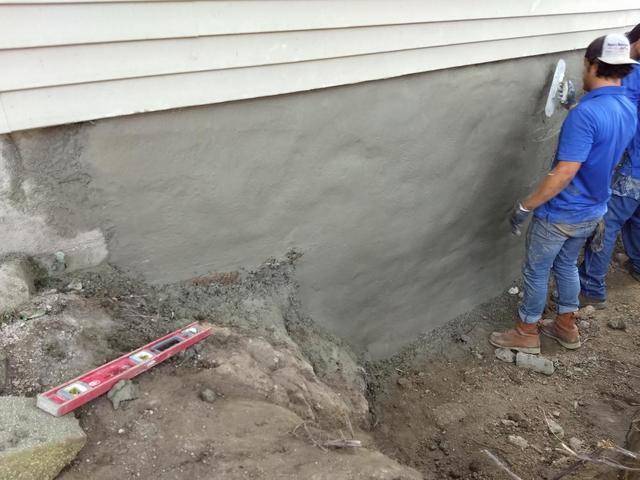 Crumbling Foundation? Try Shotcrete