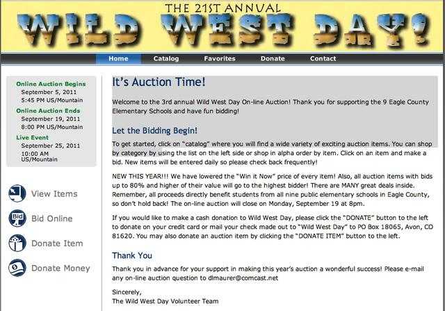 Please Support Wild West Day 2011