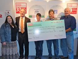 SteamMaster Golf Gives Over $20,500 to Local Non-Profit and Charities