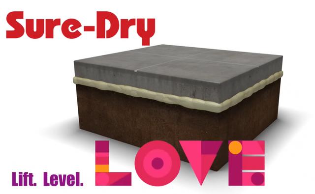 Lift, Level & LOVE Your Concrete!