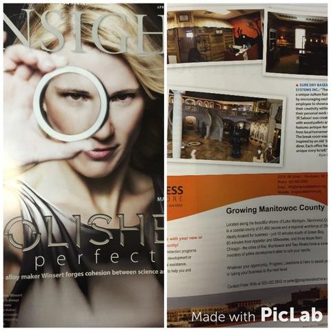 Our office space featured in local business magazine - Image 1