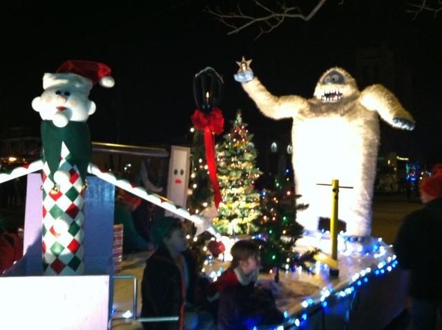 Appleton Christmas parade a success for Sure-Dry