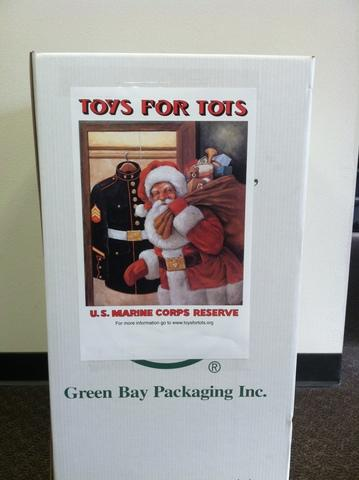 Sure-Dry official Toys for Tots drop off location