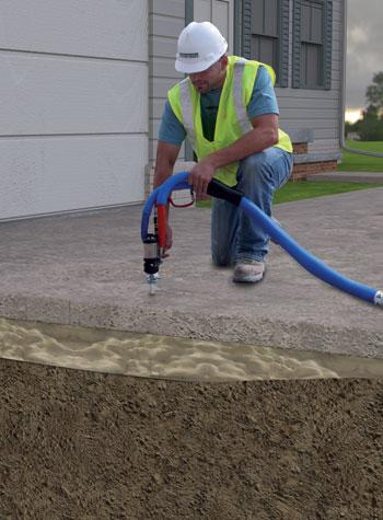 Sure-Dry Introduces New Concrete Lifting System