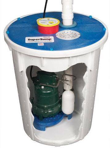 The pump is only part of your sump pump system