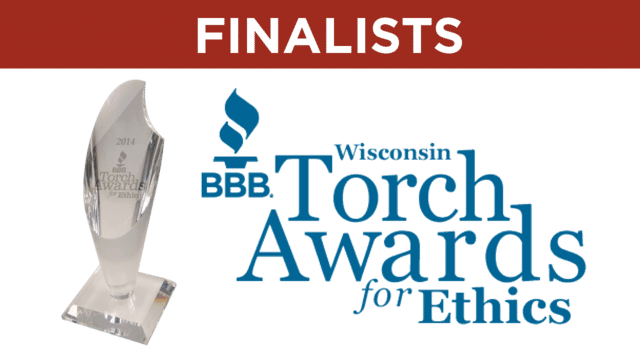 SureDry named finalist for BBB Business Ethics  Integrity Torch Award - Image 1
