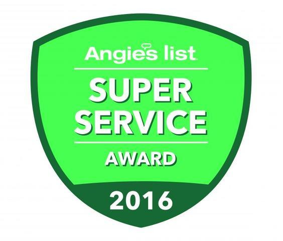 Angie's List Super Service Award Win