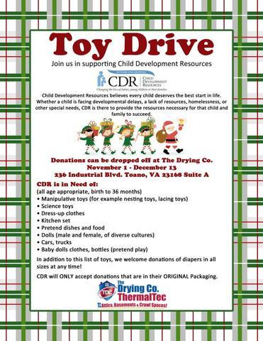 Annual Toy Drive for Child Development Resources - Image 1