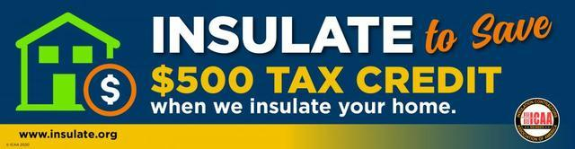 Insulation Tax Credits Through 2020
