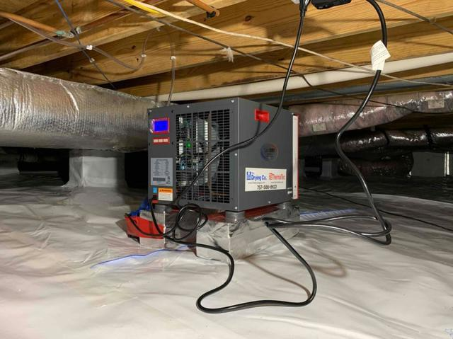 Why get an annual maintenance on my crawl space dehumidifier?
