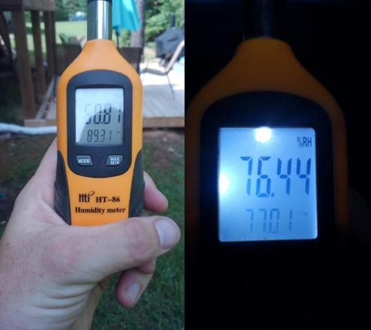 Relative Humidity - What is it and why does it matter in my crawl space?