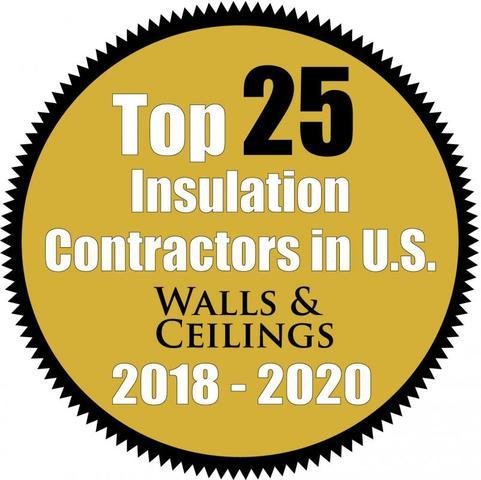 The Drying Co. Recognized as 2020 Top 25 Insulation Contractor