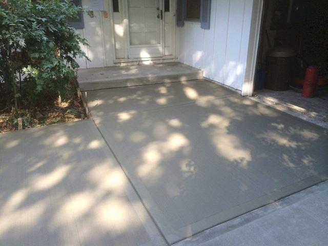 Kansas City Master Companies replaced the damaged areas with new concrete.