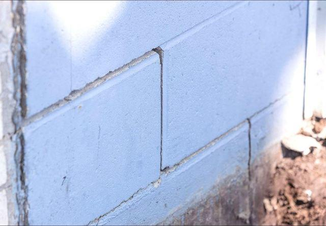 Stair Step Cracks