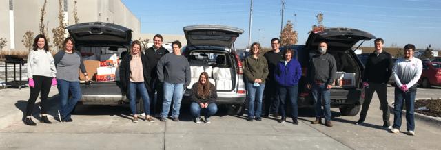 Thrasher Accounting Team Open Door Mission Volunteers